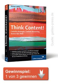 Think Content Buch