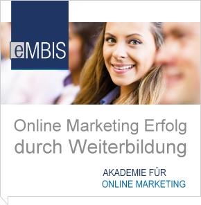 Weiterbildungsangebot der eMBIS Akademie
