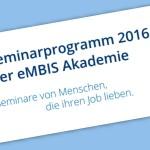 eMBIS Seminarkatalog 2016
