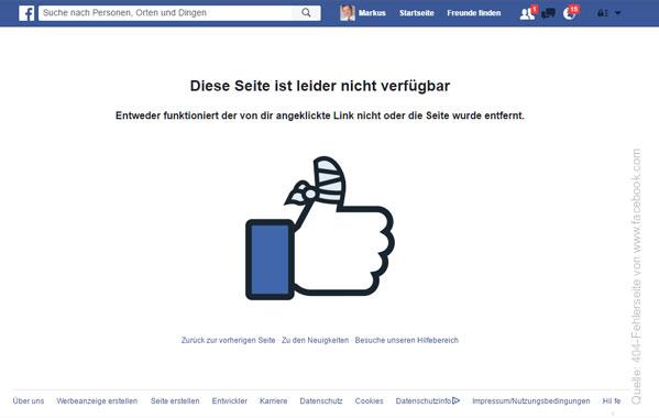 404 Facebook