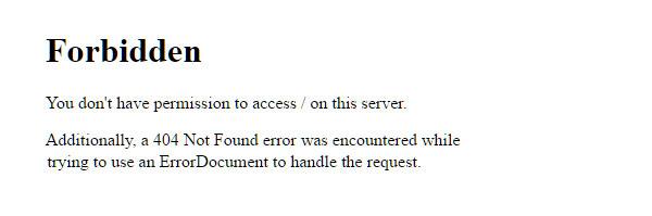 404 Server