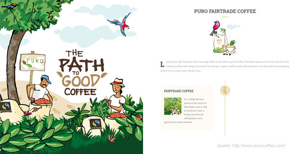 Storytelling-Check: Puro Coffee