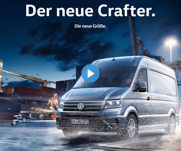 VW-Werbung