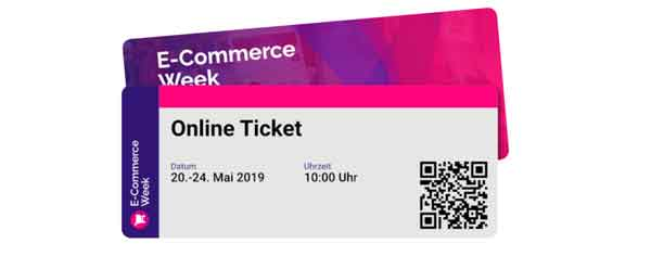 E-Commerce Week Ticket